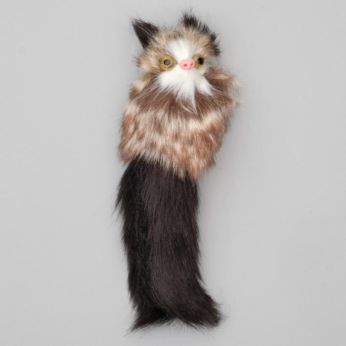 """Игрушка для кошек """"Кот-дружок"""", корпус 7 см, искусственный мех, микс цветов - быстрая доставка"""