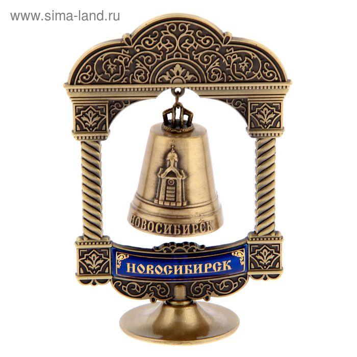 """Колокольчик на подставке """"Новосибирск"""""""