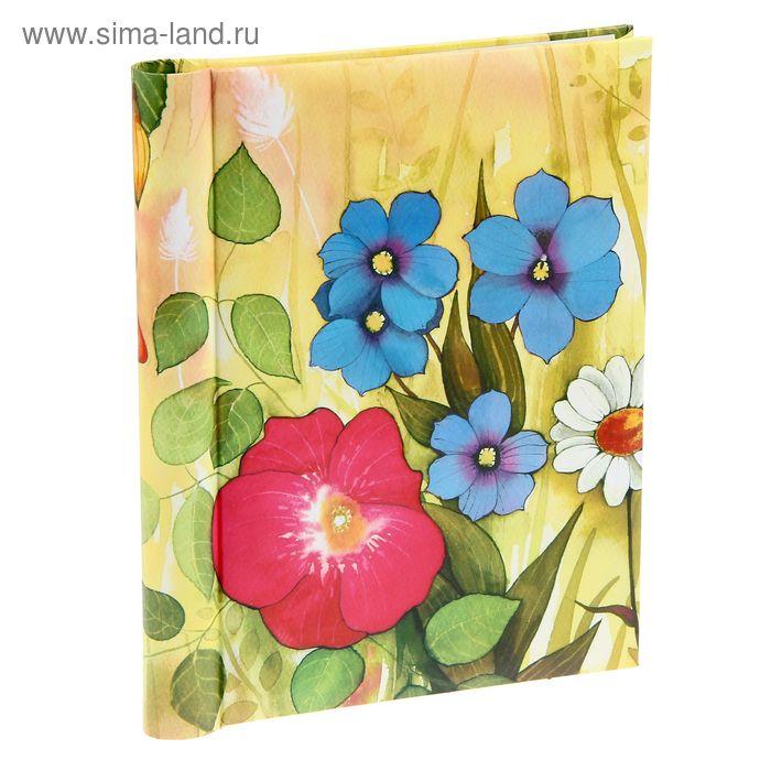 """Фотоальбом магнитный на 20 листов """"Полевые цветы"""""""