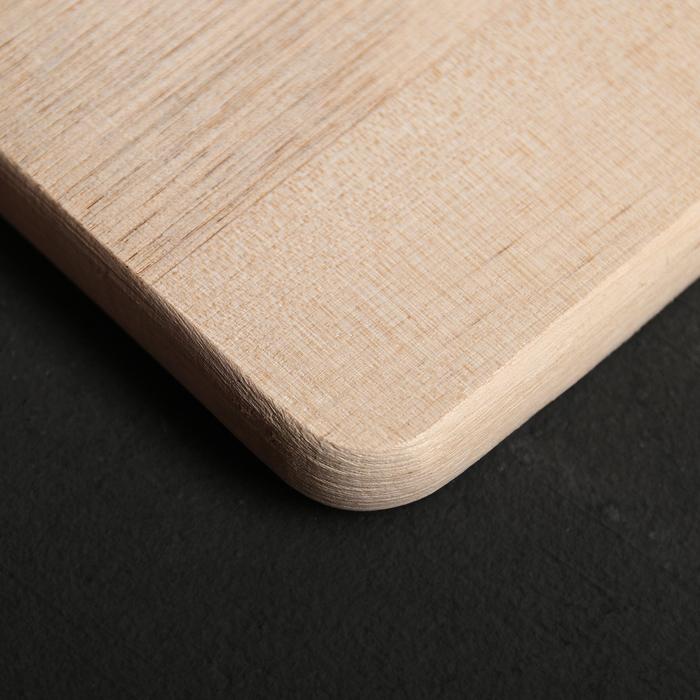 Доска разделочная «Берёзка» 33×23×1,5 см