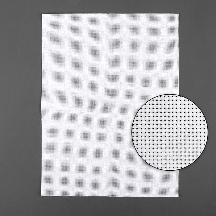 Канва для вышивания, №11, 30 × 40 см, цвет белый