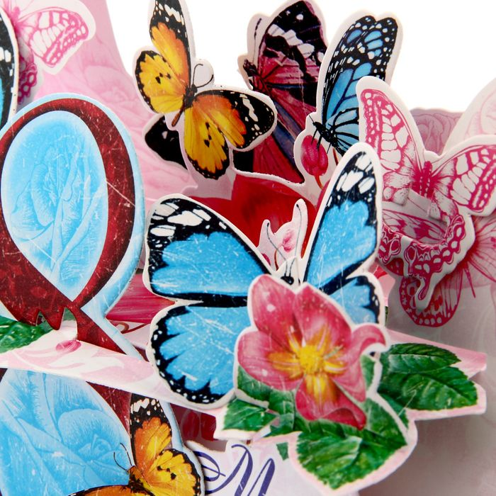 Картинки с бабочками 8 марта