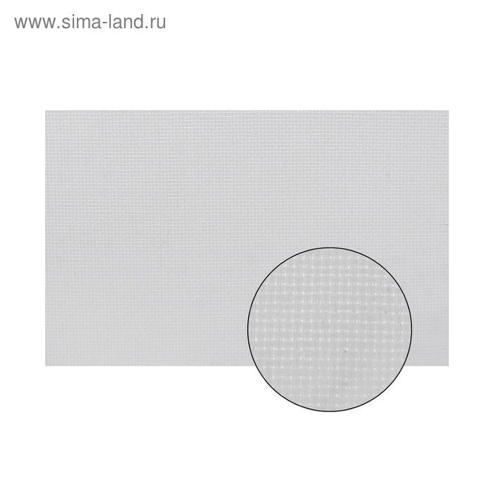 Канва для вышивания №14, 60х40см, цвет белый