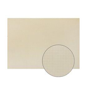 Канва для вышивания №11, 50х50см, цвет молочный Ош