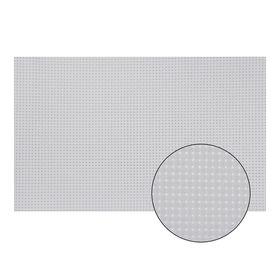 Канва для вышивания №11, 60х40см, цвет белый Ош