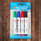 The water-based markers 4 PCs., color black, red, blue, green