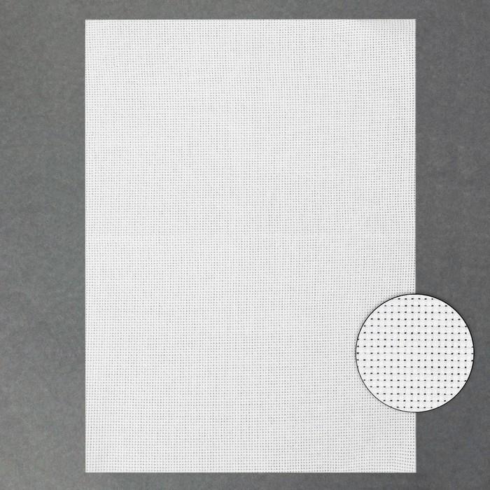 Канва для вышивания №11, 30х40см,цвет белый