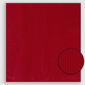 Canvas for embroidery No. 11, 50x50cm, color red