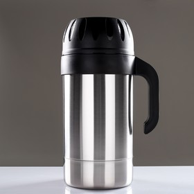 Drinking thermos Rodnik with a narrow neck, 3 L, 63 ° C, 24 hours.
