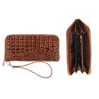 Портмоне женское, 1 отдел для купюр, для кредитных карт, цвет коричневый