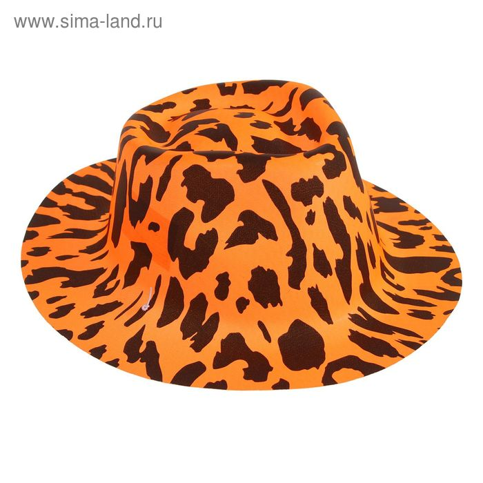 "Карнавальная шляпа ""Пятна""на резинке цвета МИКС"