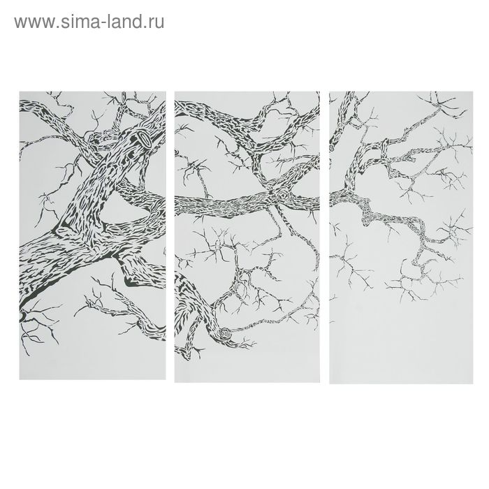 """Модульная картина на холсте с подрамником """"Дерево"""""""