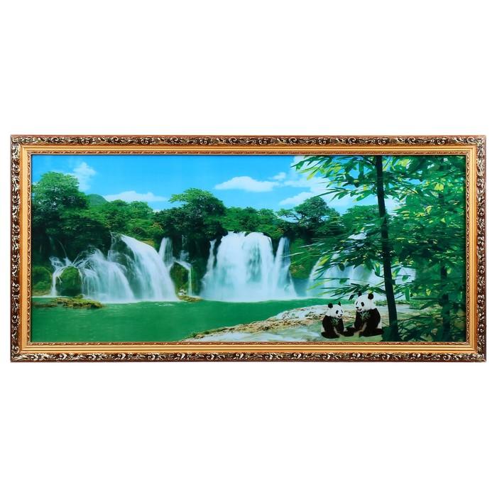 "Световая картина ""Панды"" звук водопада"