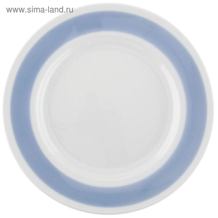 """Тарелка мелкая d=17,5 см h=2,6 см """"Соли синие"""""""