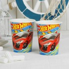 Стаканы бумажные Hot wheels, набор 6 шт., 200 мл
