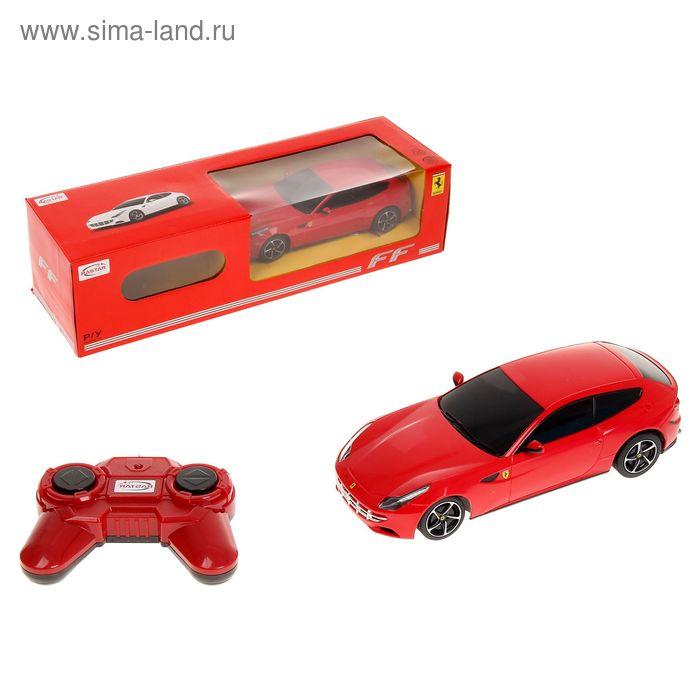"""Машина на радиоуправлении """"Ferrari FF"""" 1:24, МИКС 46700"""