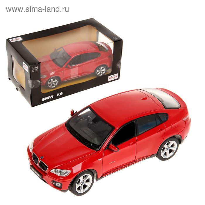 Металлическая машинка BMW X6, МИКС