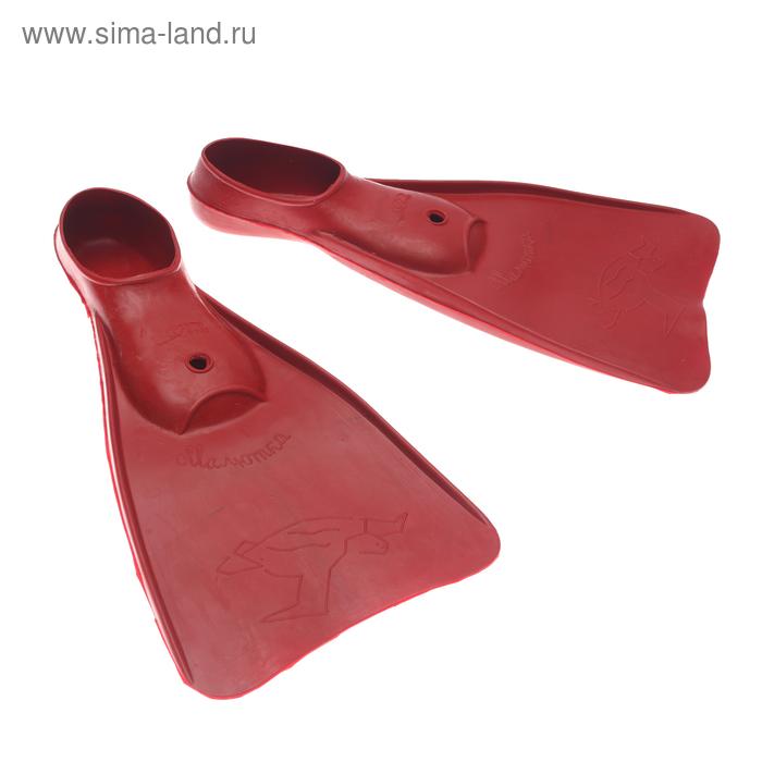 Ласты резиновые для плавания «Малютка», размер 32-34, цвет МИКС