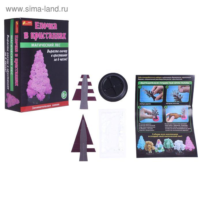 """Набор для выращивания кристаллов """"Магическая ёлочка"""""""