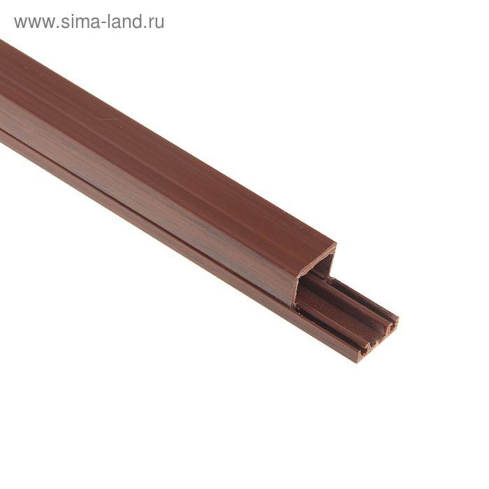 Кабель-канал, 12 х 12 мм, длина 2 м, 200 шт, цвет венге