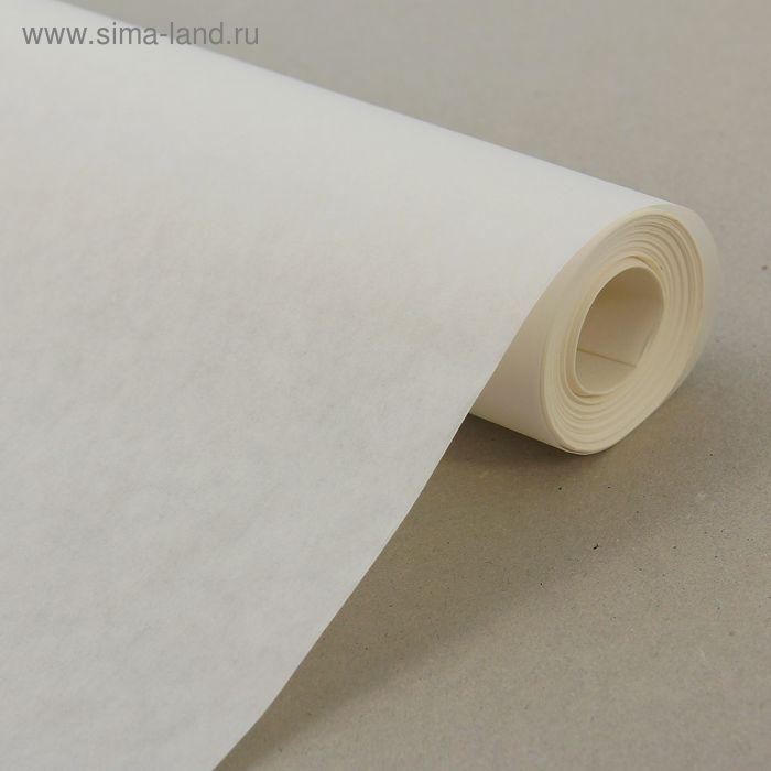 Калька, 48 г/кв.м, ширина - 42см, 15м, цвет белый
