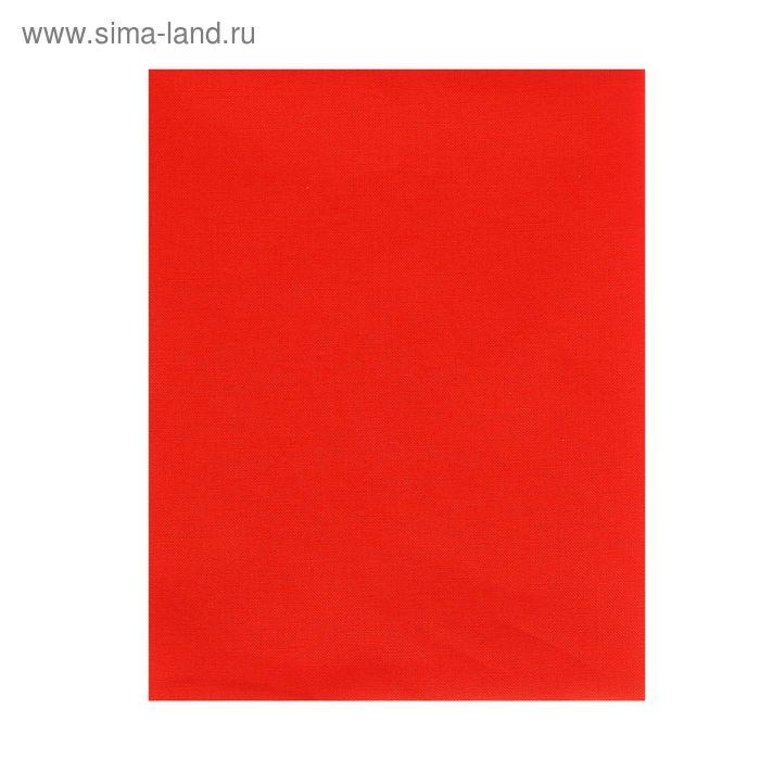 Ткань для пэчворка Kona Cotton, 50х55см, 122±5г/кв.м, CORAL, цвет ярко-коралловый