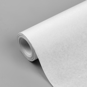 Tracing paper, 48 g / m2, width - 64 cm, 10 m, white.