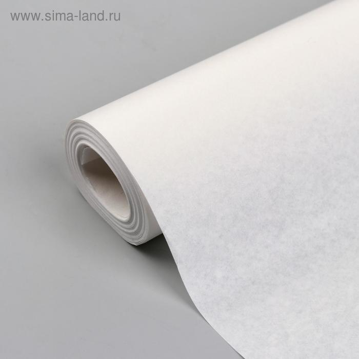 Калька, 48 г/кв.м, ширина - 84 см, 10м, цвет белый