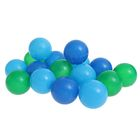 """Шарики для сухого бассейна """"Морские"""" с рисунком, диаметр шара 7,5 см, набор 90 шт."""