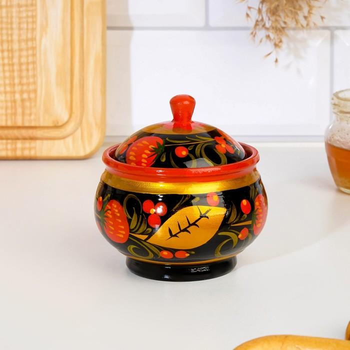 Пиала «Чашка», 9×5 см, хохлома