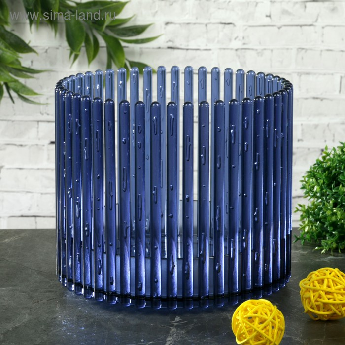 "Кашпо для орхидеи 1,8 л ""Шарм"", цвет синий"