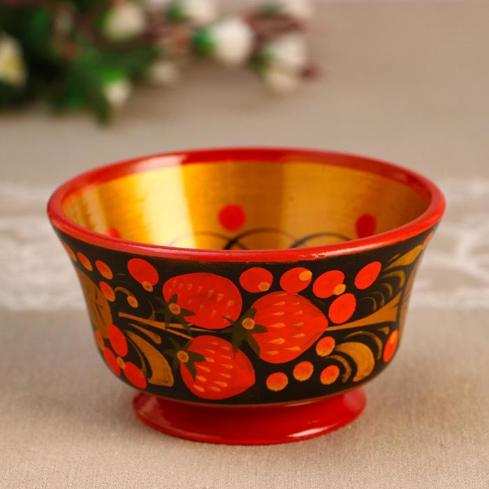 Пиала «Чашка», 10×6 см, хохлома