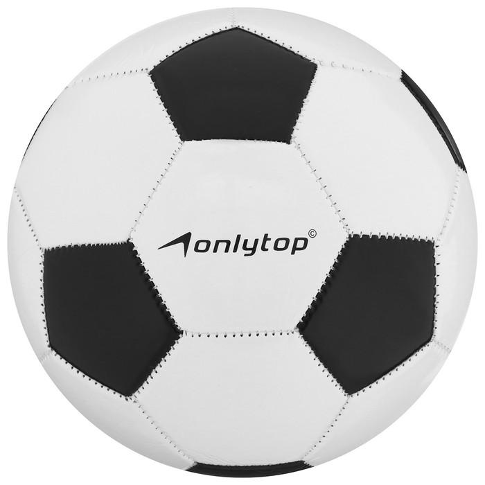 Мяч футбольный, машинная сшивка, PVC, размер 4