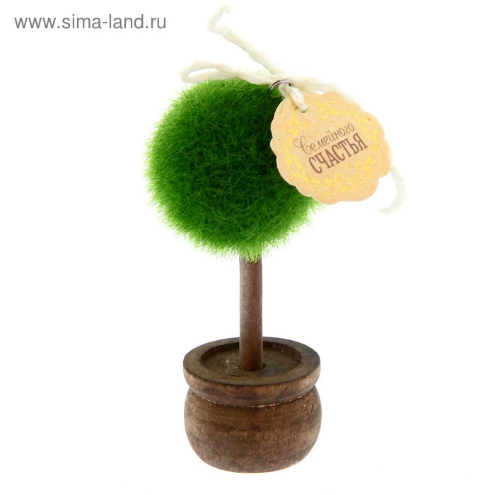 """Дерево в горшке """"Семейного счастья"""", 11,2 х 7,2 см"""