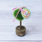 Декоративное мини–дерево «Ты моё счастье», 11,2 х 7,2 см