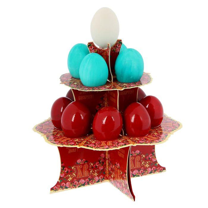"""Подставка пасхальная на 12 яиц """"ХВ. Классика"""""""