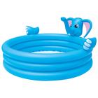 """Бассейн надувной игровой """"Слон"""", с распылителем, 152 х 74 см, от 2 лет"""