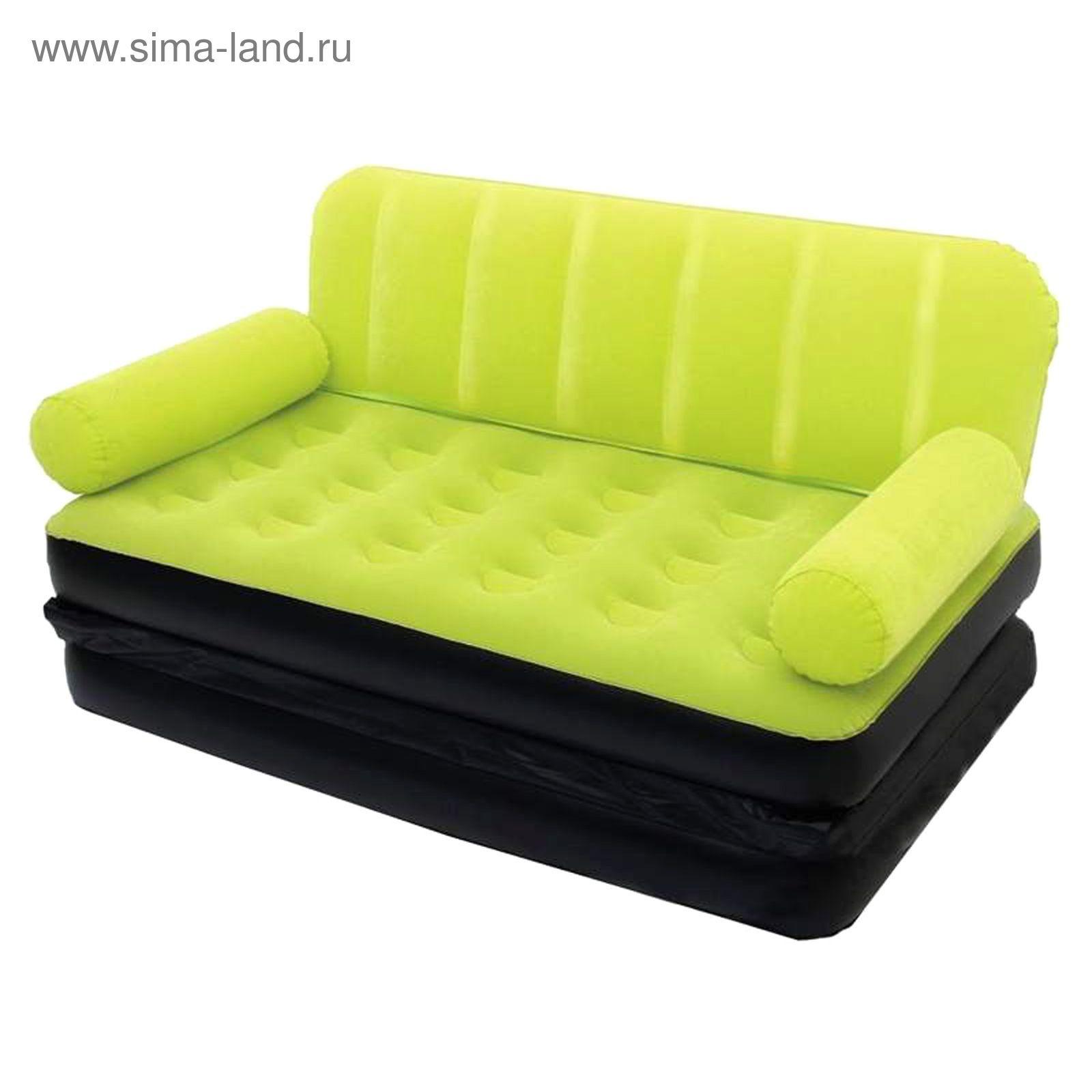 надувной диван кровать 188х152х64 см электронасос в комплекте