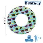 Круг для плавания «Очки», d=76 см, от 3-6 лет, 36057 Bestway
