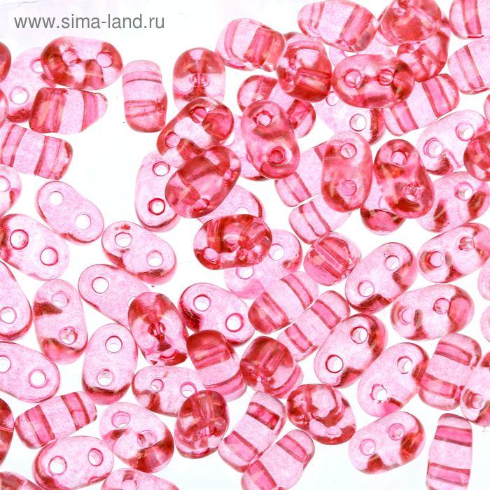 "Бисер ""GAMMA"" 2,5х5мм (Т058 розовый)"