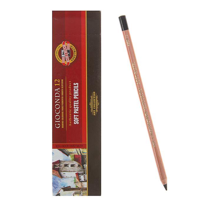 Пастель сухая художетсвенная Soft в карандаше Koh-I-Noor GIOCONDA 8820/2 Pastel черный