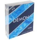Подарочный парфюмерный набор для мужчин Demon Ice: туалетная вода, 100 мл + дезодорант, 75 мл