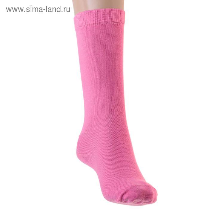 Носки детские, размер 22-24, цвет розовый 001/1