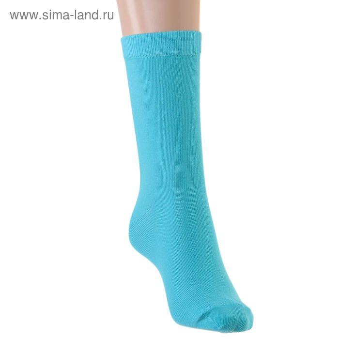 Носки детские, размер 22-24, цвет берюза 001/1