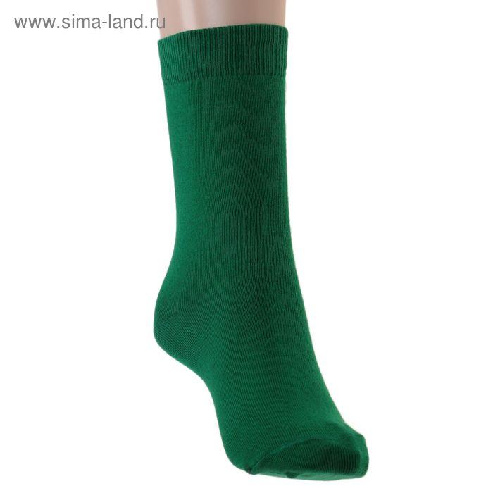 Носки детские, размер 22-24, цвет зеленый 001/1