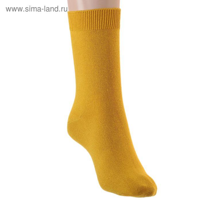 Носки детские, размер 22-24, цвет охра 001/1