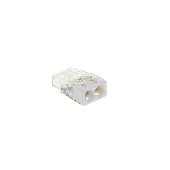 Клемма WAGO 2273-242 компактная 2-проводная сечением 2.5 мм, с пастой, набор 100 шт