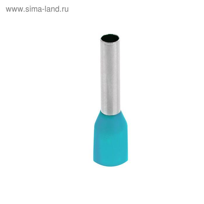 Набор втулочных наконечников, под один провод, сечением 0.25 мм2, контакт 8 мм, НШВИ, 100 шт