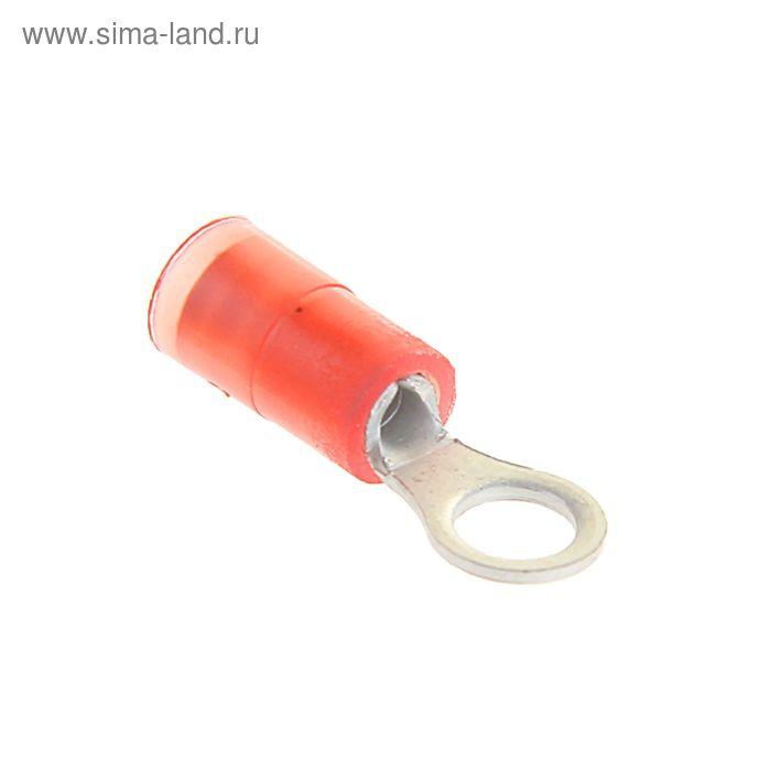 Наконечник кольцевой сечением 1,5 мм, контакт 4 мм, виброустойчивый, ПВХ, ВНКИ