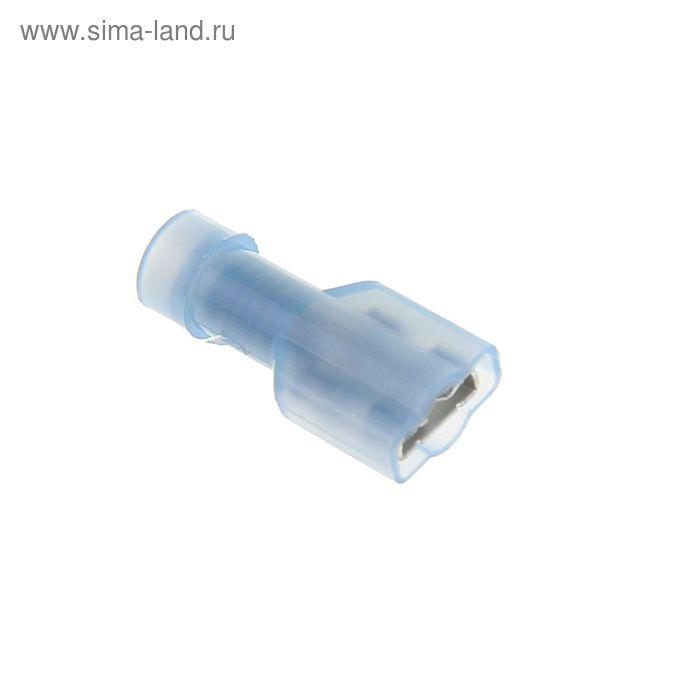"""Разъем плоский изолированный """"внутренний"""" сечением 2,5 мм, 6,3мм, нейлон, РПИ-М(н)"""